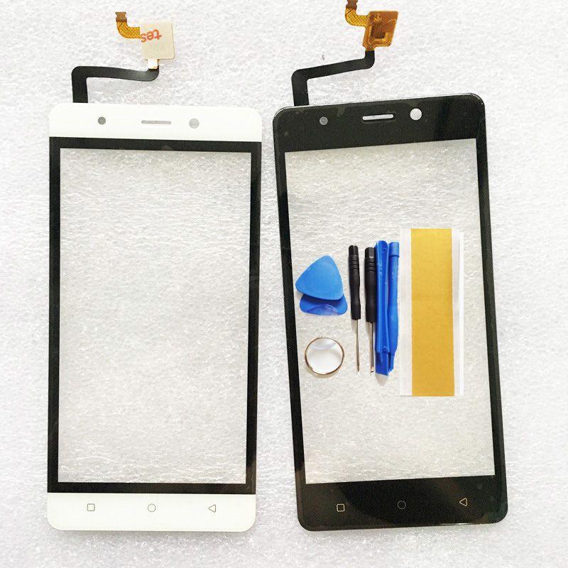 Noir Blanc Écran Tactile Pour Blackview A8 Tactile Écran Lentille Capteur Tactile de Remplacement Du Panneau Pour A8 Avant En Verre + Outils