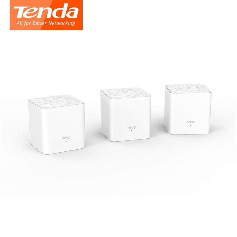 Tenda Nova MW3 Wifi Router AC1200 Dual-Band for Whole Home Wifi Coverage Mesh WiFi System Wireless Bridge, APP Remote Manage