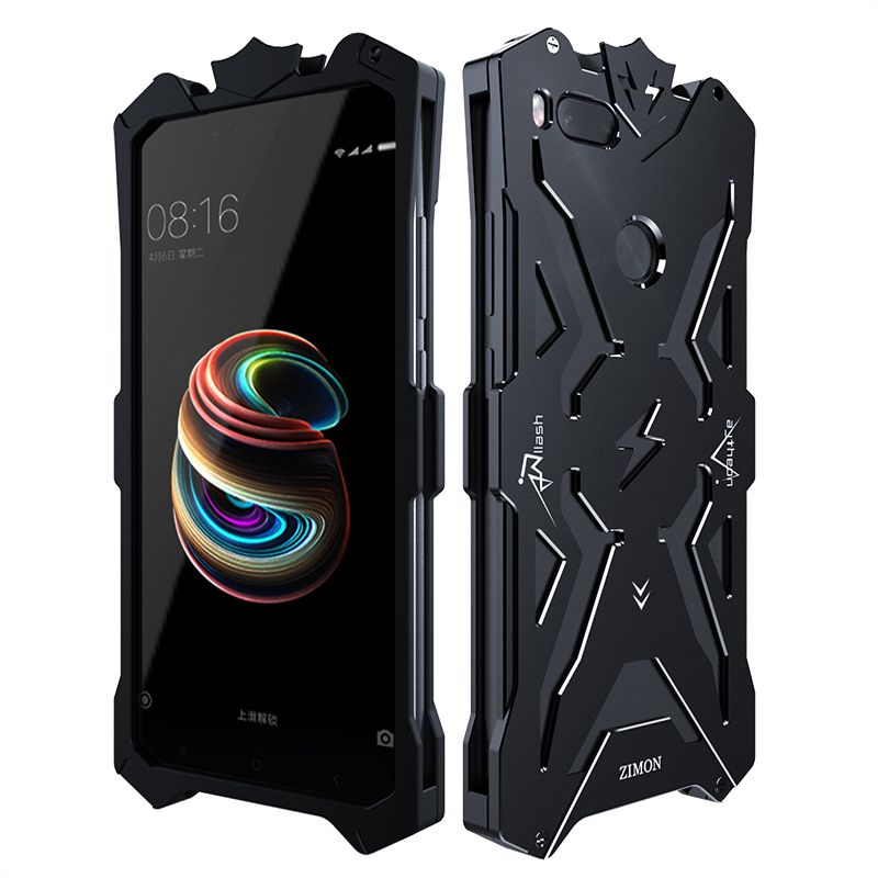 Zimon Powerful Shockproof Screw Metal case for Xiaomi mi a1 Aluminum Phone Cases For Xiaomi mi 5x xiaomi mi a1 5.5 inch