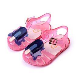11,8-20,8 cm 2018 Mini Melissa helado popsicles fruta niñas Sandalias Zapatos verano jalea zapatos para niños pequeños