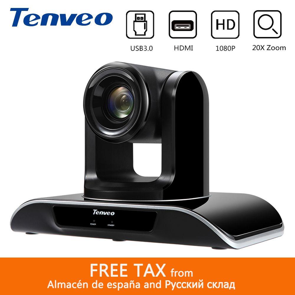 Tenveo VHD203U 1080p60fps 2,38 Megapixe 20X PTZ Streaming Video Kamera Konferenz Gleichzeitige HDMI USB3.0 Ausgang 94 grad FOV