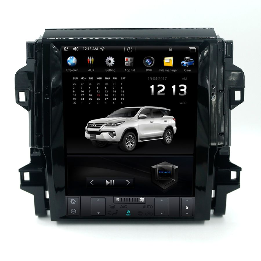 12,1 Inch Auto-Multimedia-Player Für Toyota Fortuner Android 7.1 Quad Core Anto Multimedia Stereo Video Player GPS Navigation