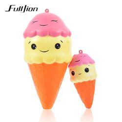Fulljion Licin Lambat Rising Ice Cream Hiburan Baru Gag Mainan untuk Anak Menghilangkan Stres Lucu Gadget Hadiah