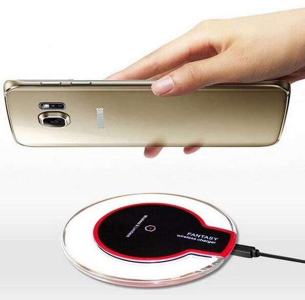 QI Wireless Charger for Samsung S7 edge Charging Pad Galaxy S6 Plus Note 5 LG Nexus LTE2 4 6 Wireless Desk Docking Charge Cable