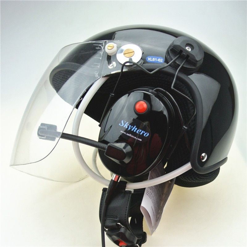 Noise cancel Paramotor helmet Powered Paragliding helmets PPG Helmets Factory directly sale