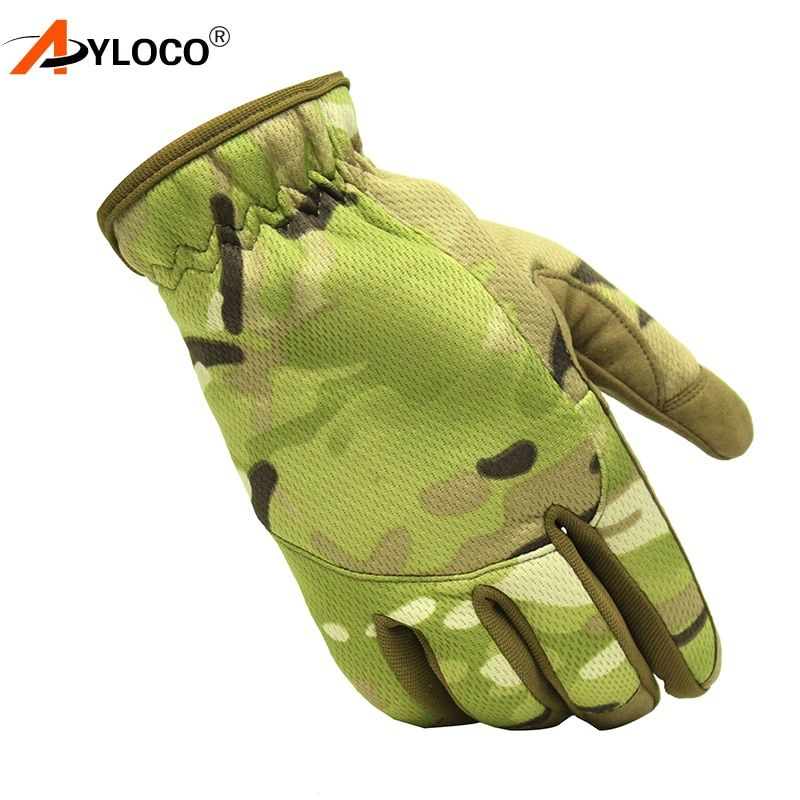 New Outdoor Paintball Shooting Military Gloves Lightweight Multicam Edition Army Airsoft Tactical Gloves Men