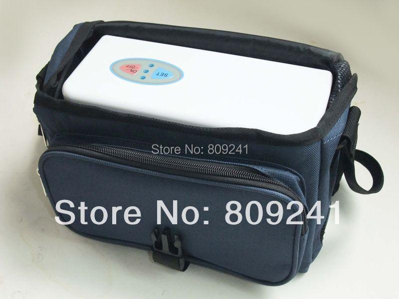 Mini tragbare sauerstoffkonzentrator kann zu hause/auto/reise mit zwei neue generation batterien
