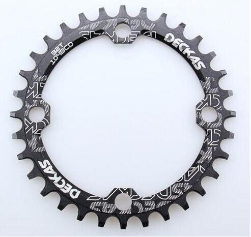 DECKAS 104 Bcd 32/34/36/38 T montagne vélo manivelle roue en aluminium Bcd104 plateau creux réparation adapté 9 S 10 S 11 s