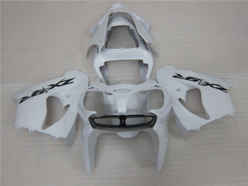 Hot sale mold fairing kit for Kawasaki ZX9R 02 03 white motorcycle fairings set ZX9R 2002 2003 EO03
