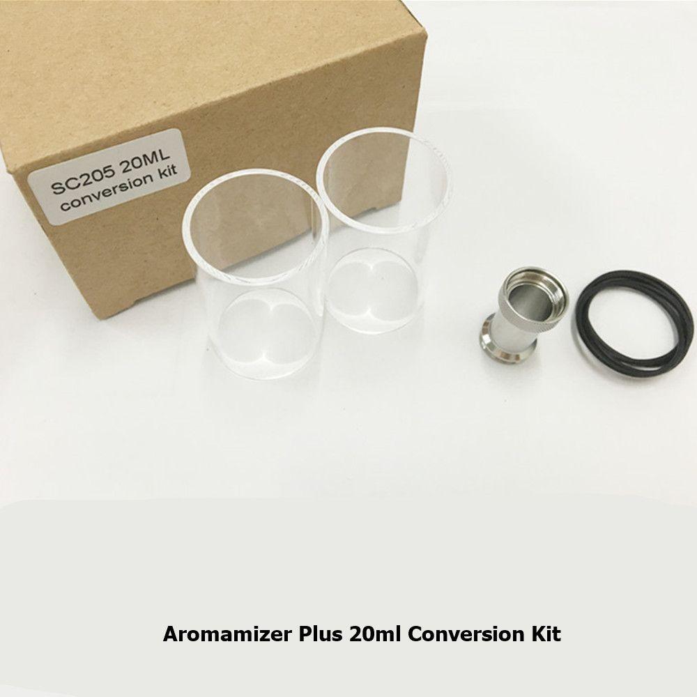 2Pcs/lot Original Steam Crave Aromamizer Plus RDTA 20ml 5ml Conversion Kit Replacement Glass Tube for Aromamizer 10ml Atomizer