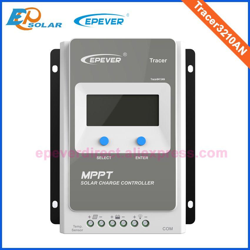MPPT Controller for solar panel system 12v 390w 24v 780w system use EPSolar Regulator 30A Tracer3210AN 12v 24v Auto Work