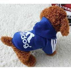 Primavera Otoño Invierno Caliente perro ropa de algodón suave cachorro HOODIE Suéteres para pequeñas Perros PET coat xs-xxl