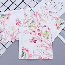 Pink Flower Painting Birds Paper Napkins Cafe & Party Tissue Napkins Decoupage Decoration Paper 33cm*33cm 20pcs/pack/lot