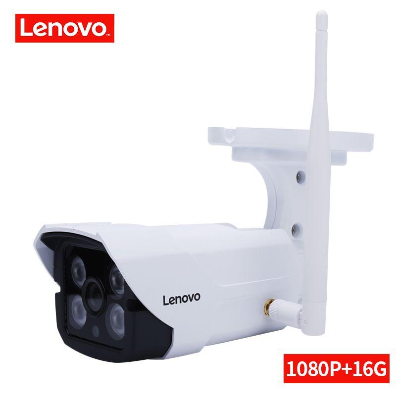 LENOVO Surveillance Camera ip camera wi-fi 1080P Built-in 16G CCTV Camera Security Waterproof Indoor/Outdoor