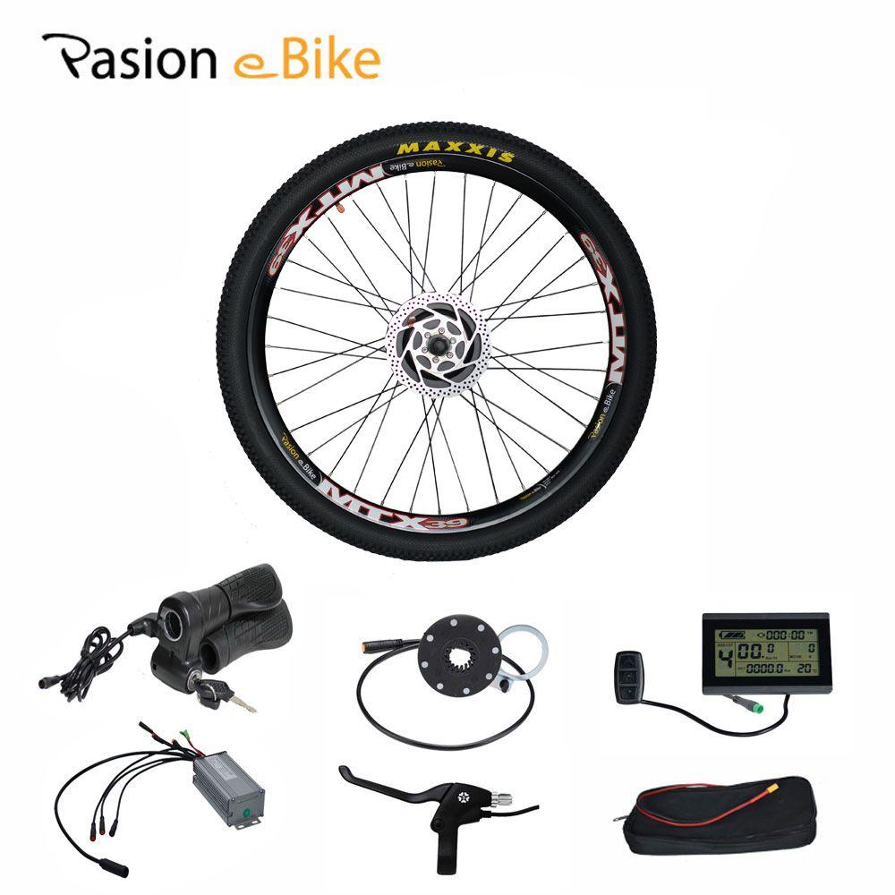 PASION E FAHRRAD 48 V 500 Watt Bafang Hub Motor Elektro-fahrrad E-bikes Umbausatz für 24