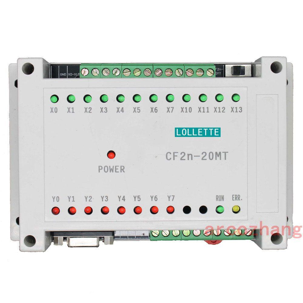Contrôleur logique programmable CF2N FX2N 20MT 12 entrées 8 Transistors de sortie contrôleur plc commandes d'automatisation système plc