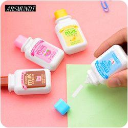 Cute Milk Correction Tape Kawaii Corrector For School 5mm*6m Stationery School Supply Papeleria Supplies