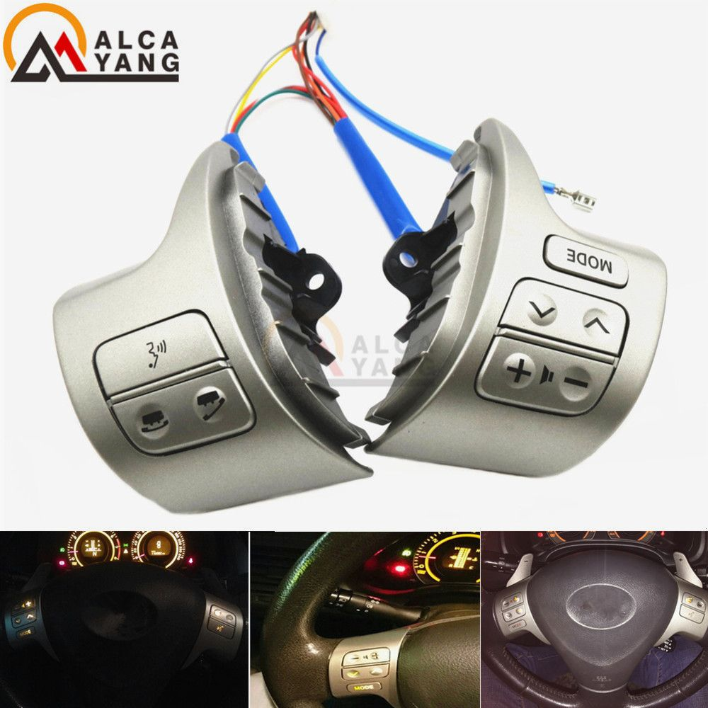 Bluetooth Steering Wheel Audio Control Switch 84250-02200 For Toyota Corolla ZRE15 2007 ~2010
