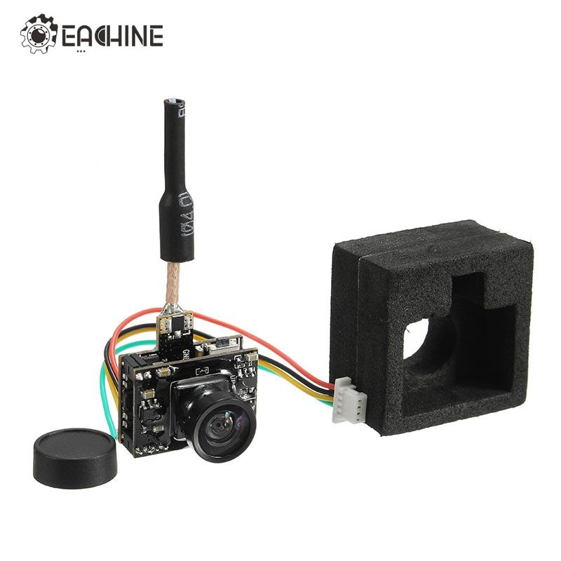 2017 Newest Eachine TX05 0.01/5/25/50/100 /250mW Switchable w/ OSD AIO 5.8G 72CH VTX 600TVL NTSC Mini FPV Camera for RC Drone