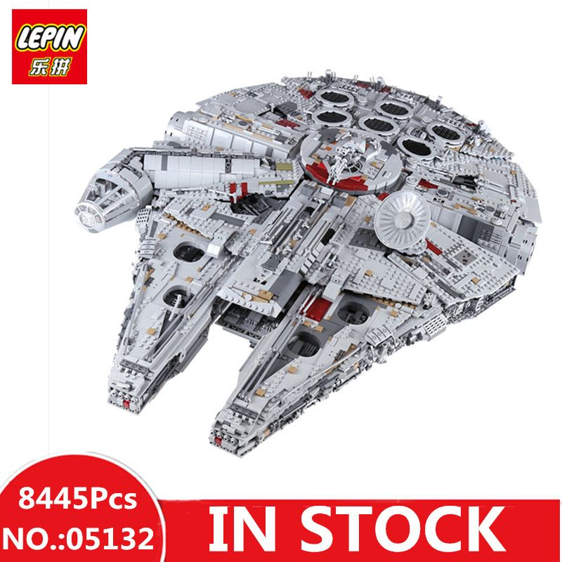 IN STOCK H&HXY 05132 8445Pcs Star Ultimate LEPIN Collector's wars Model Destroyer Building Bricks Children Christmas Toys 75192