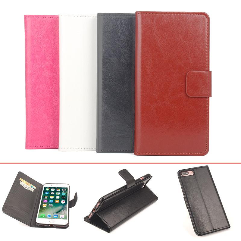 For iPhone 7 Plus Cover With Wallet , Leather Case + Original Luxury Cover For iPhone 7 Plus Phone Case In Stock Shell