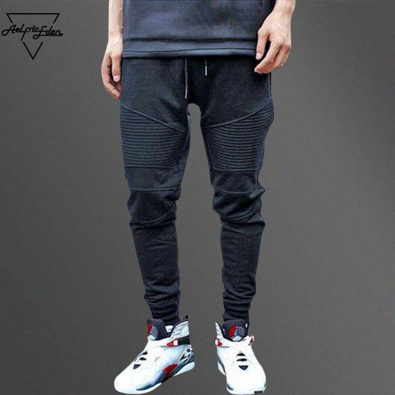 Aelfric Eden G-DRAGON Jogger Jogginghose Plissee Einfache Männer Hosen Füße Ninja Hosen Mann Baumwolle Pluderhosen Gemütliche Casual Hosen