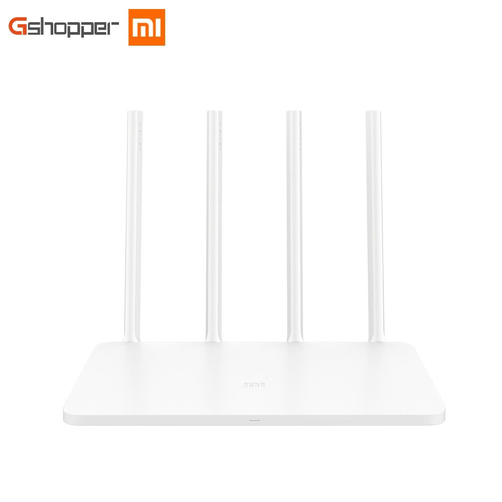 Original Xiaomi Router 3 English Version Wifi Extender 1167mbps 2.4g/5ghz Dual Wireless Routers Repetidor WI-FI Roteador
