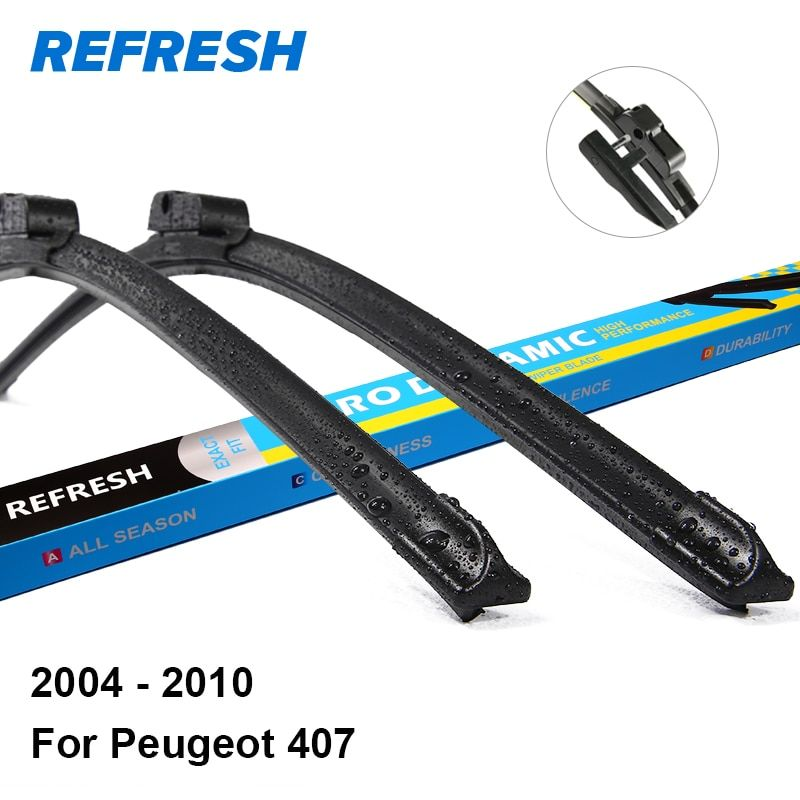 REFRESH Wiper Blades for Peugeot 407 28
