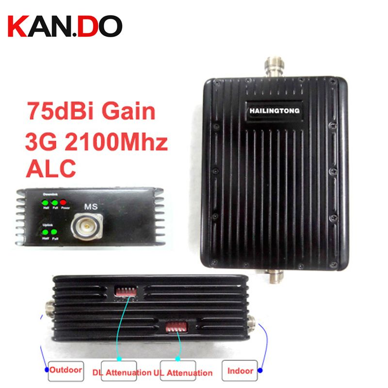 Attenuation switch function 75dbi ALC function 3G WCDMA booster 3G repeater,2100Mhz booster 2100Mhz repeater 30dbm UMTS booster