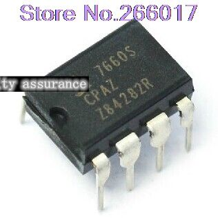 10 unids ICL7660SCPA ICL7660S ICL7660SCPAZ ICL7660 DIP DIP8