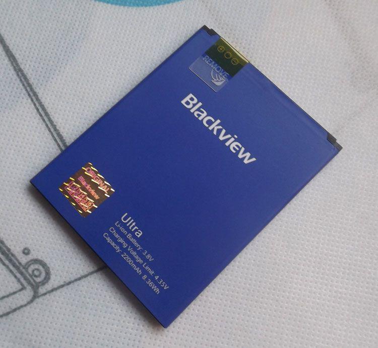 Original Blackview Ultra A6 Batterie 2200 mAh Li-Pol Unterstützungsbatterie für Blackview Ultra Perfekte Ersatz