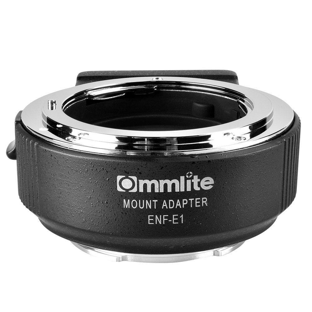 Commlite CM-ENF-E1 PRO Auto-Focus Lens Mount Adapter forNikon Tamron Sigma F Mount Lens toSony E Mount Camera(V06 version)