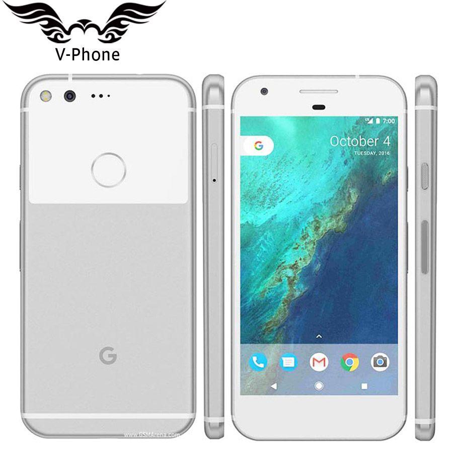 Original NEW EU Version Google Pixel Mobile Phone 5.0'' Snapdragon Quad Core 4G LTE Android 4GB RAM 32GB 128GB ROM Smartphone
