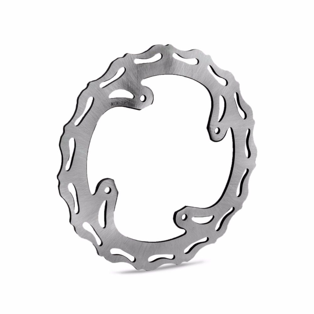 240mm Motorcycle Rear Brake Disc Rotor For Honda CR 125 CRF 250 450 500 250R 250X CRE 450R 450X CRM 500X 2002-2019