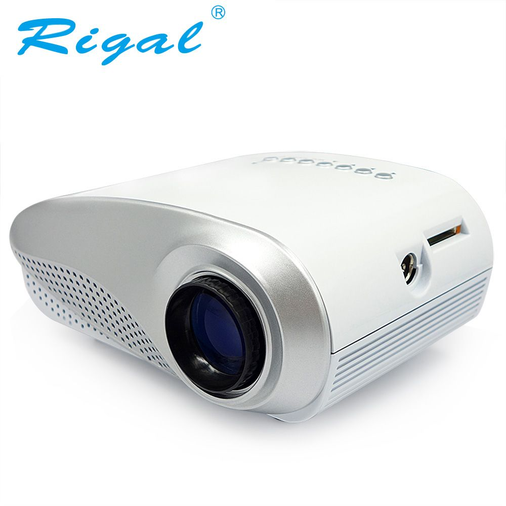 Rigal Projector RD802 Classics LED MINI Projector 200Lumens Beamer for TV Movie Video Home Cinema HDMI USB VGA AV ATV Projetor