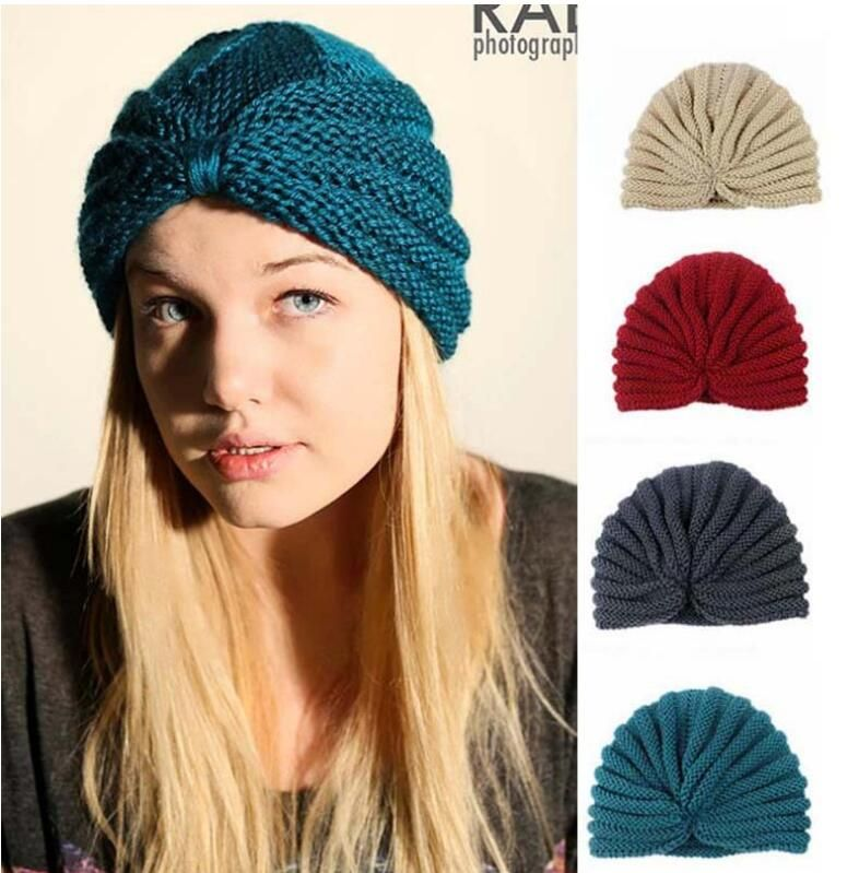 2016 Women Winter Hats India hats caps turban caps dome caps women beanies hats fashion women knitted warm hats