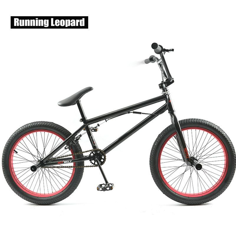 20-Inch BMX Bike Extreme Sports Entry-Level Performance Bike Fancy Stunt Street Bike Male And Female Students Children's Bicycle