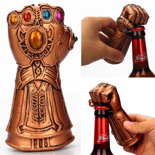 Créatif polyvalent Infinity Thanos Gauntlet gant bière bouteille ouvreur à la mode utile Soda verre bouchon dissolvant outil ménage