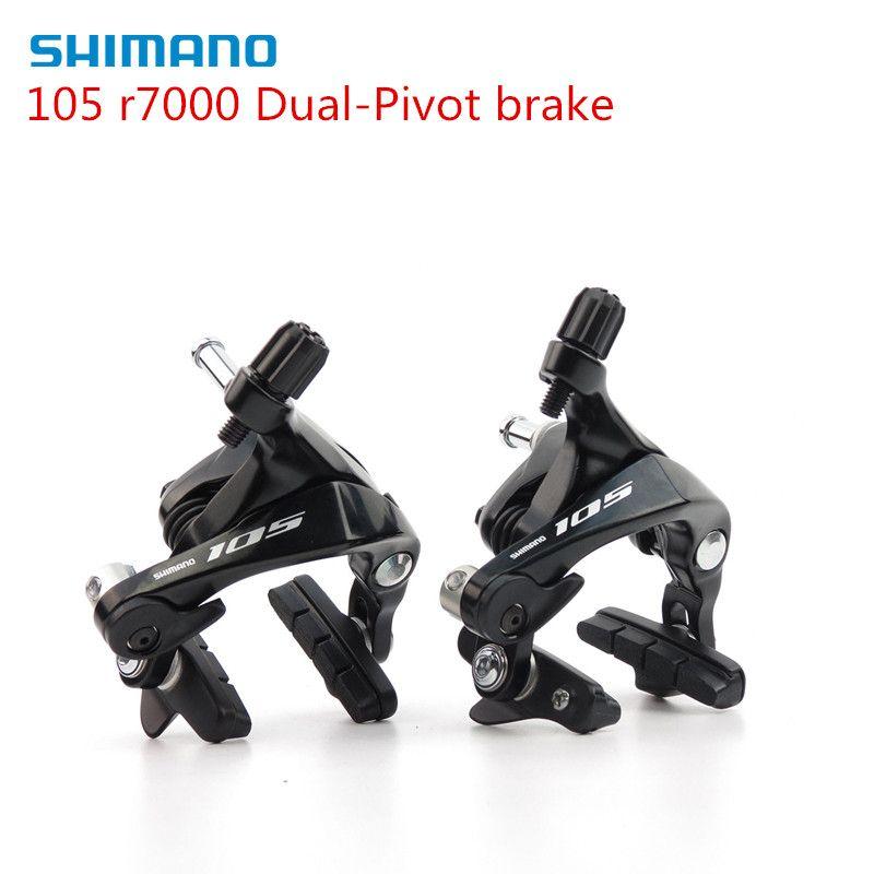 SHIMANO 105 BR R7000 Dual-Pivot Brake Caliper R7000 Road Bicycles Brake Caliper Front & Rear upgrade from 5800