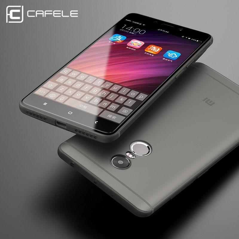 CAFELE мягкие чехлы для телефона из ТПУ для XIAOMI Redmi 4 4X 4A чехол силиконовый роскошный защитный чехол для Xiaomi Redmi Note 4 4X чехол