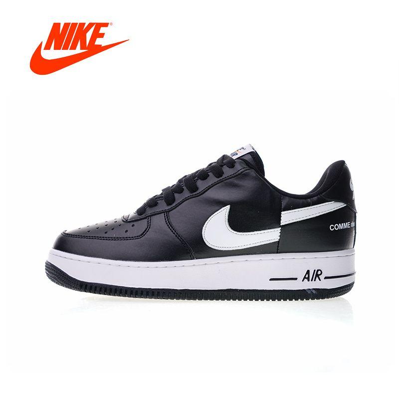 Original New Arrival Authentic Nike Air Force 1 Low X Supreme X Comme Des Garcons Men's Skateboarding Shoes Sneakers AR7623-001