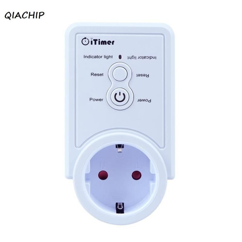 QIACHIP Smart Plug GSM Smart Socket App Timing Control for iOS Android Smartphone Tablet 220V EU Plug with temperature sensor H3