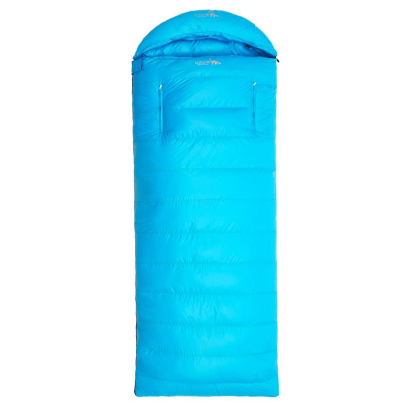 New Winter Outdoor Ultra Light Waterproof Windbreaker Hiking Sleep Bag Camping Travel Portable Envelope Duck Down Sleeping Bag