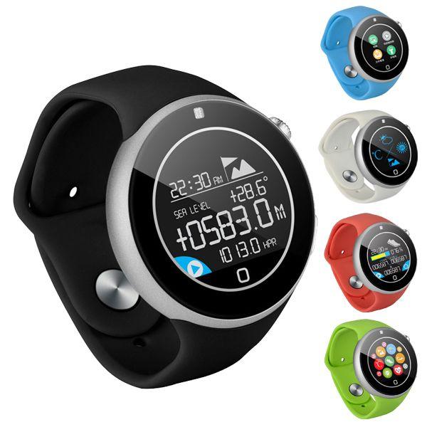 Bluetooth montre Smart watch C5 Étanche IP67 Moniteur de Fréquence Cardiaque Sport Podomètre SIM Carte MT2502C Smartwatch pour IOS Android