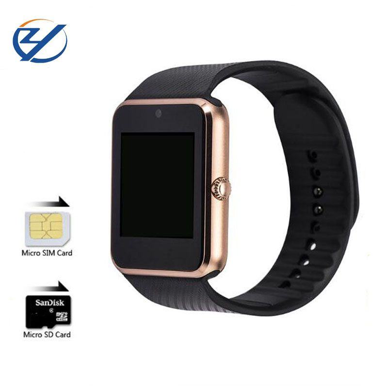 ZAOYIEXPORT Bluetooth Smart Watch GT08 Support Sim TF Card Sleep Monitor Smartwatch For Iphone xiaomi Sumsung Android PK DZ09