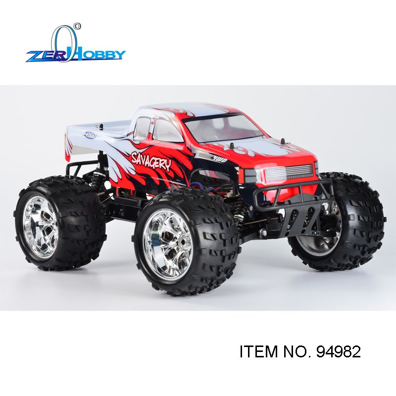 BEST DESIGN NEW ARRIVAL HSP 1/8 SCALE ELECTRIC POWER BRUSHLESS MOTOR 4X4 OFF ROAD MONSTER TRUCK 94982 TWO BATTERIES HIGH POWER