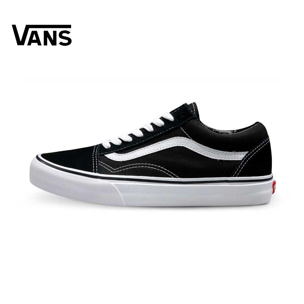 Original Vans Old Skool low-top CLASSICS Unisex MEN'S & WOMEN'S Skateboarding Shoes Sports canvas Shoes Sneakers