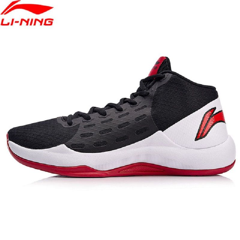 Li-Ning 2018 Men SONIC TEAM Basketball On Court Shoes Anti-Slippery Li Ning Breathable Sports Shoes Wearable Sneakers ABPN009