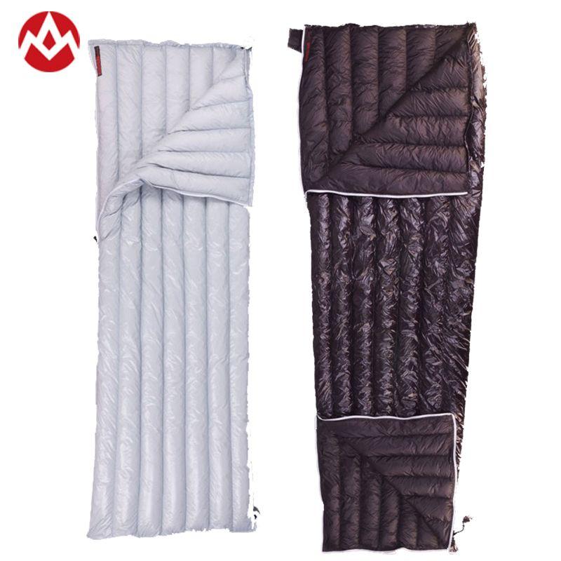 Aegismax 40 Degree 800FP Goose Down UL Sleeping Bags Outdoor Camping Adult Envelope Lightweight Single Sleeping Bag