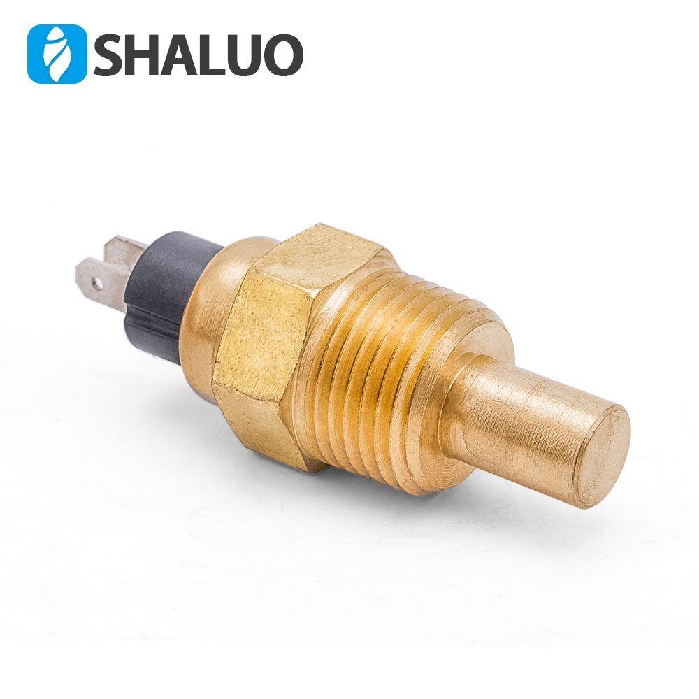 21mm Diesel Engine Water Temperature Sensor VDO 1/2 NPT generator part brass screw alarm universal electronic brand sensor plug